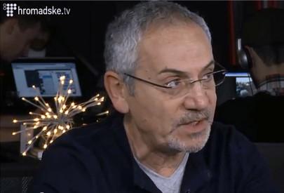 Подставной российский военный послал матом Савика Шустера в прямом эфире