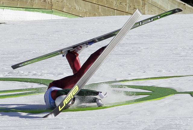 APTOPIX Vancouver Olympics Ski Jumping