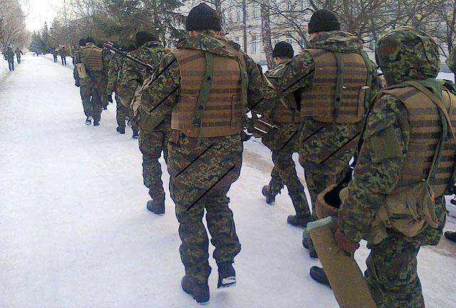 Информация о составе вооруженных