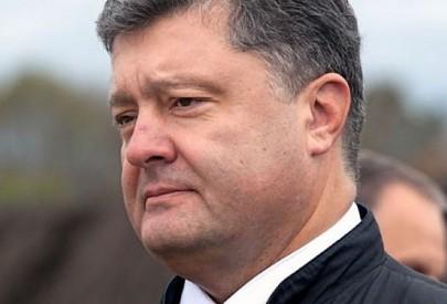 По Порошенко нанесли три удара внутри Украины