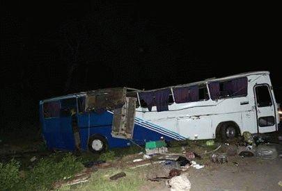 В результате аварии рейсового автобуса под Немировом погибли 3 человека (видео)