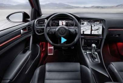 На VW Golf установили систему управления жестами