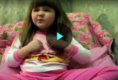 Маленькая девочка советует, как выбирать мужа, — уморительное видео