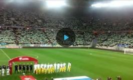 Потрясающее исполнение гимна Украины на «Арена Львов»