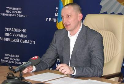 Новый начальник полиции Винничины Шевцов жестко стартовал