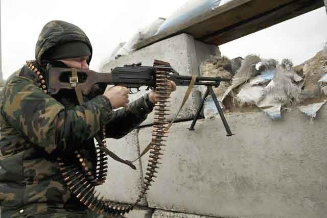 Засутки противник 22 раза обстрелял позиции ВСУ наДонбассе