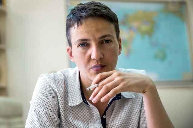 «Пускай спасет Украину»,— Савченко поведала, чем мужчина может покорить еесердце