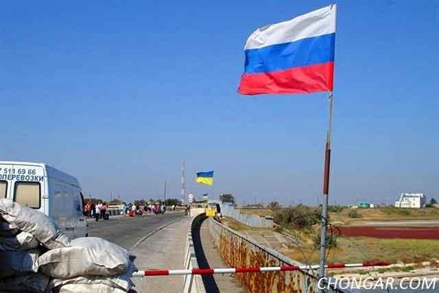 Возобнавлено частичное движение накрымской границе