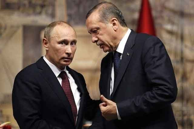 Эрдоган предложил Путину вести расчеты Турции и РФ внацвалютах
