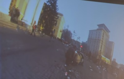 Расстрел Майдана: появилось доэтого неопубликованное видео