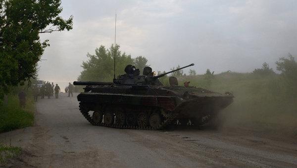 Под обстрел попали позиции военных врайоне Новоалександровки