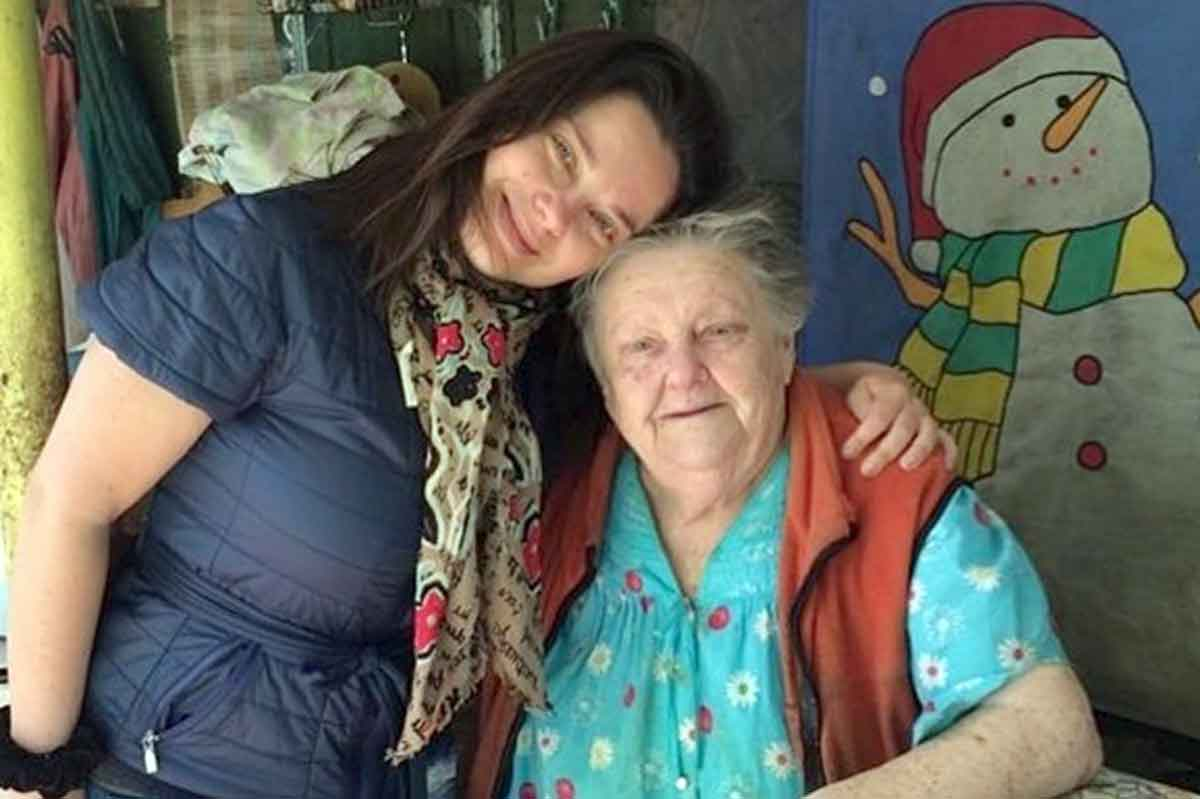 94-летняя бабушка Наташи Королевой оставляет Украинское государство из-за внучки