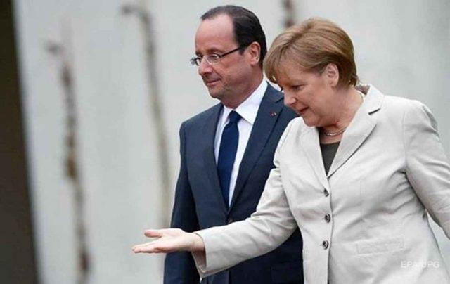 Европа нануждается всоветах извне— Олланд Трампу