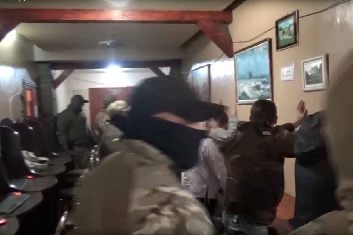 Под Горловкой накрыли казино, где вербовали людей вбанды боевиков