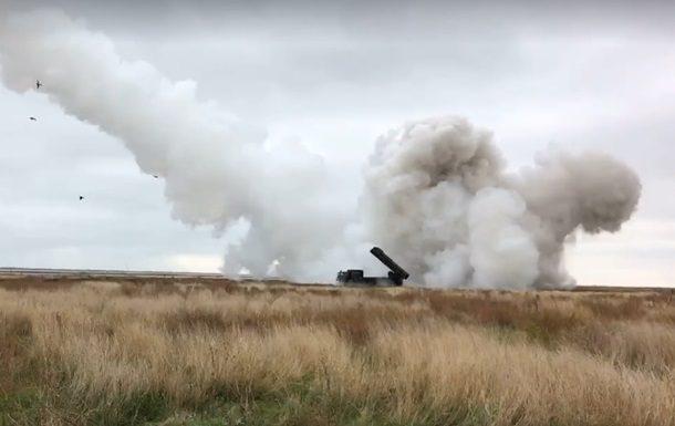 УПрезидента показали испытание свежей ракеты украинского производства
