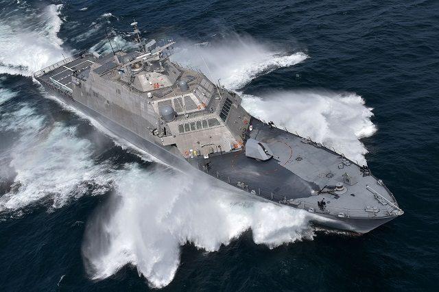 LCS 7 USS Detroit Acceptance Trial