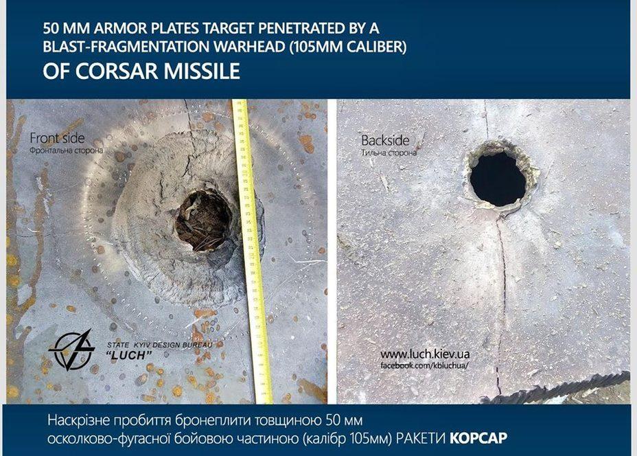 Испытан ракетный комплекс «Корсар»: боевая установка впечатлила собственной универсальностью