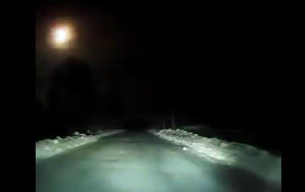 Падение метеорита вАрхангельской области зафиксировано навидео