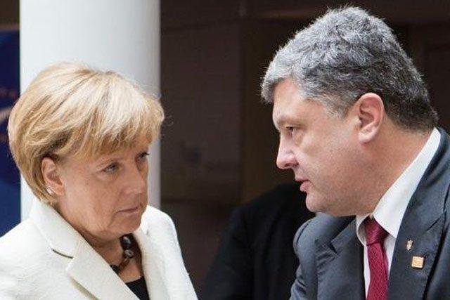 УПорошенко анонсировали встречу президента сМеркель