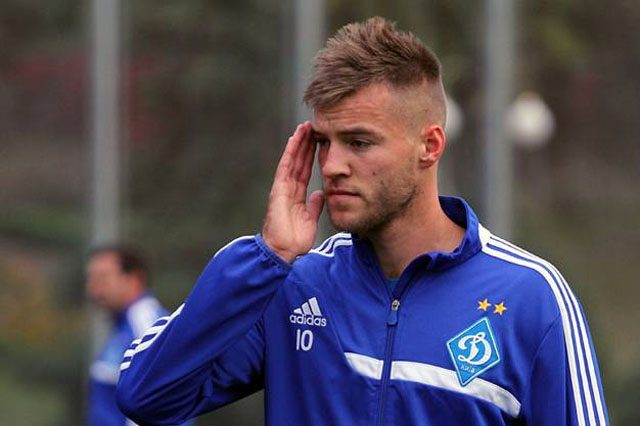 «Динамо» готово отпустить Ярмоленко в«Наполи» за22 млн евро