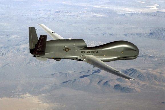 Беспилотник США произвел разведку наДонбассе