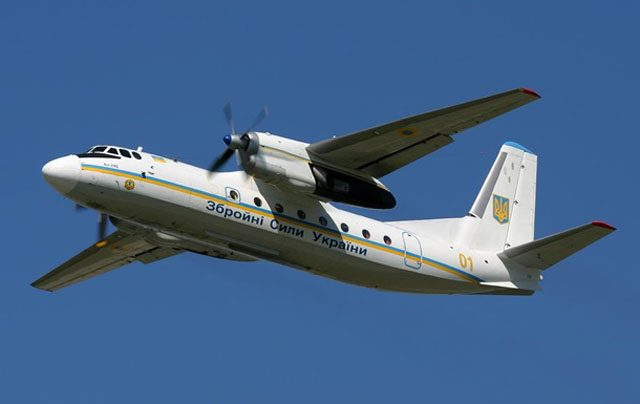 Вштабе Черноморского флота опровергли обстрел украинского Ан-26