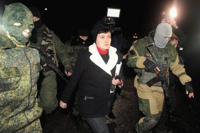 Ходаковский поведал, кто обеспечивал Савченко охрану вДНР