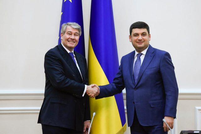 Владимир Гройсман анонсировал украинско-немецкий бизнес-форум вБерлине