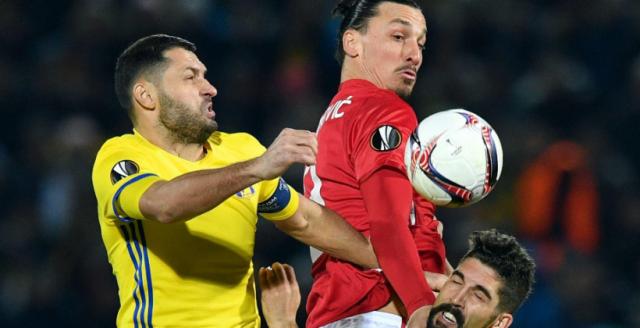 «Ростов» сыграл вничью с«Манчестер Юнайтед» вматче Лиги Европы