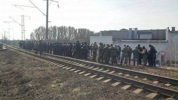 ВМЖД проинформировали оботсутствии воздействия украинских радикалов надвижение поездов