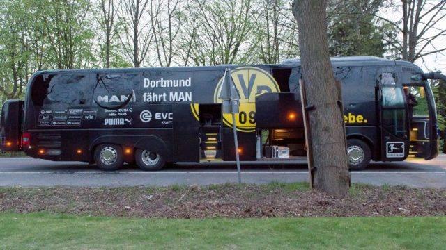 Взрывы уавтобуса дортмундской «Боруссии»: вГермании задержали подозреваемого жителя России