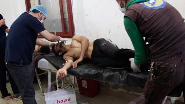 США обвинили Асада, Обаму, столицуРФ  иТегеран вгазовой атаке вИдлибе
