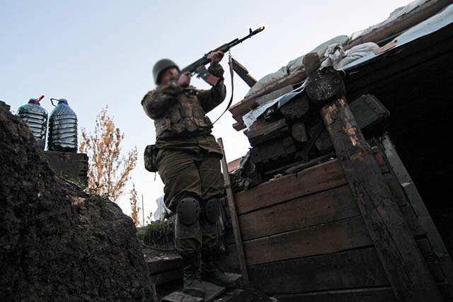 Боевики неменее 2-х часов ударяли по Марьинке изминометов игранатометов— АТО