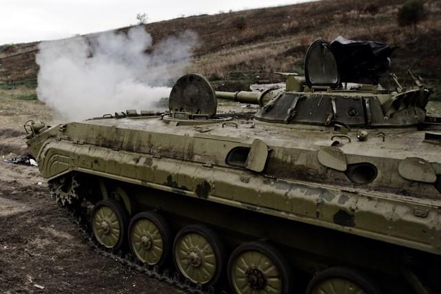 АТО: Силы ВСУ ответили огнём  напровокации боевиков под Авдеевкой
