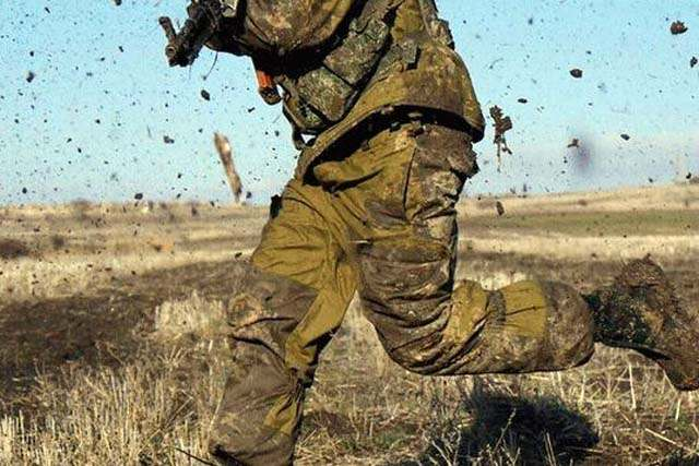 Боевики 20 раз открывали огонь, есть погибший— Штаб АТО