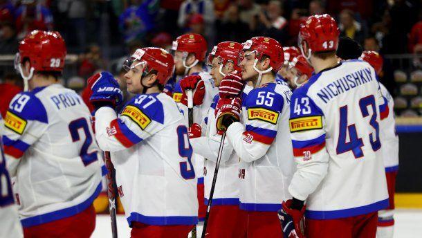 Российская Федерация считается явным фаворитом вчетвертьфинале чемпионата мира сЧехией