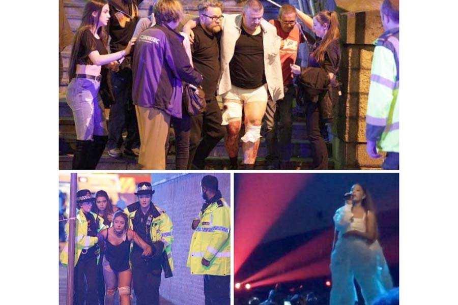 При взрыве настадионе «Манчестер Арена» погибли поменьшей мере 20 человек