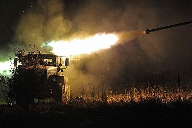 Боевики обстреляли изГрадов околицы Авдеевки иОпытного