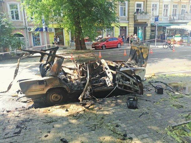 Взрыв вОдесской области: пострадал кулинар