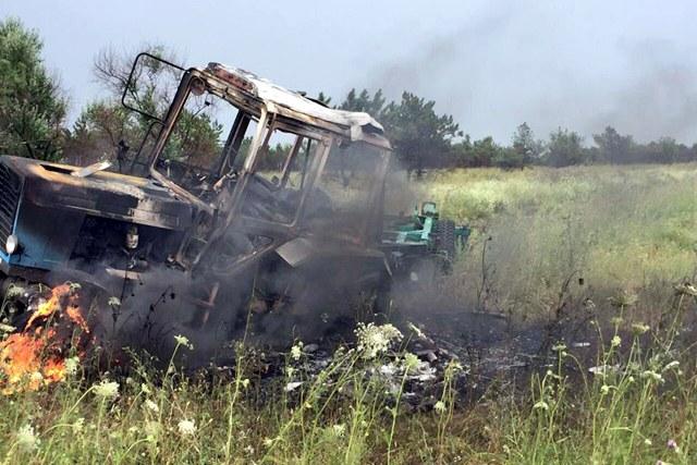 Мирные граждане подорвались наукраинской растяжке наДонбассе— МЧС ЛНР