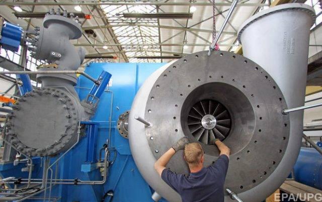 Кремль: на станции повыробатыванию электричества вКрыму ставят русские турбины
