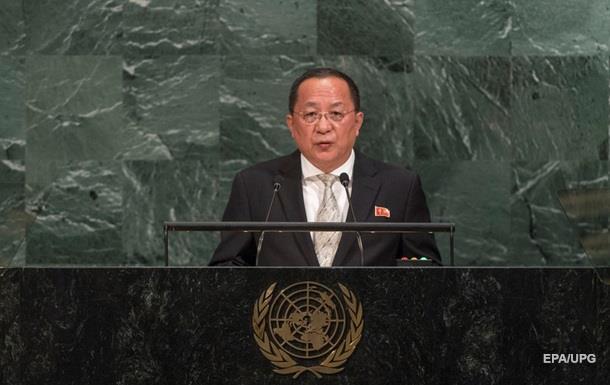 МИД КНДР пригрозил США последствиями заоскорбление Ким Чен Ына