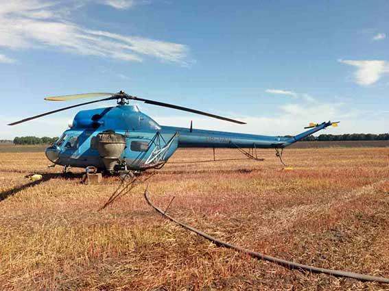 ВВинницкой области вертолет убил мужчину