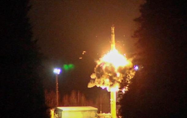 Минобороны опубликовало видео испытаний «ядерной триады»