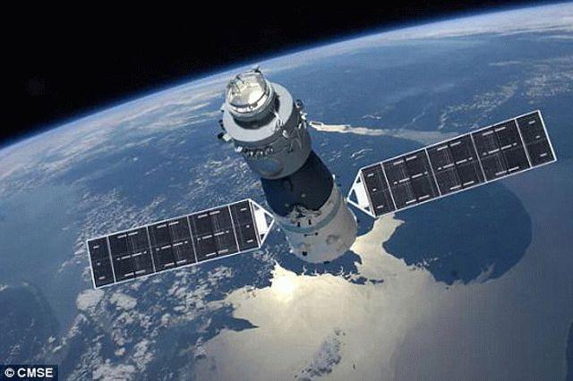Вышедшая из-под контроля китайская космическая станция ускорила свое падение