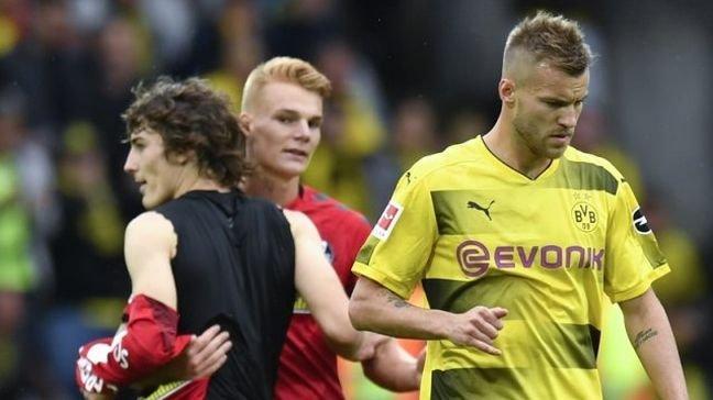 Ярмоленко забил 2-ой гол в германской Бундеслиге