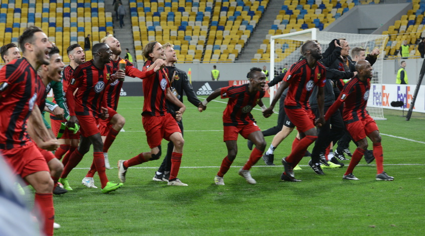 Эстерсунд— Заря Онлайн-трансляция матча Лиги Европы