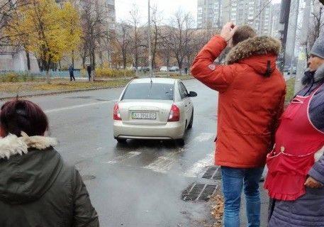 ВКиеве похитили женщину