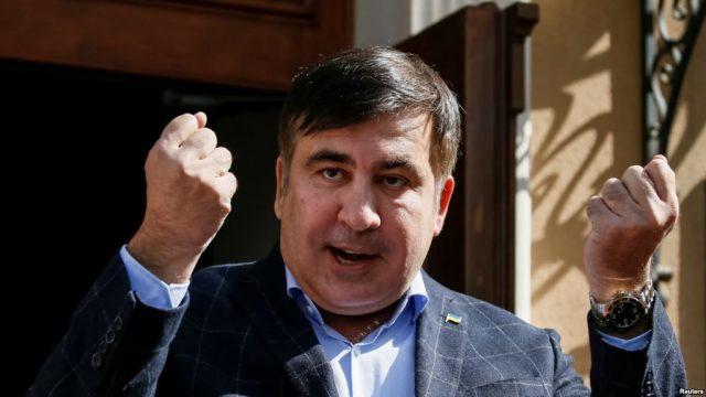 saakashvili 1 640x360 - Саакашвили рассказал о «черной метке» для Порошенко