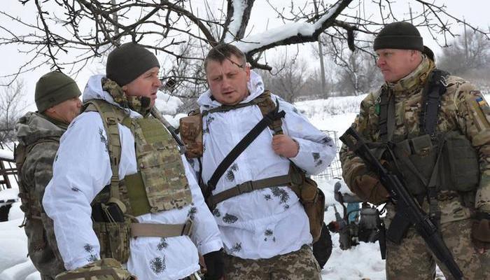 Задень боевики 4 раза обстреляли позиции сил АТО